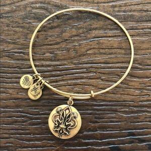 Alex and ani fleur de lis bracelet